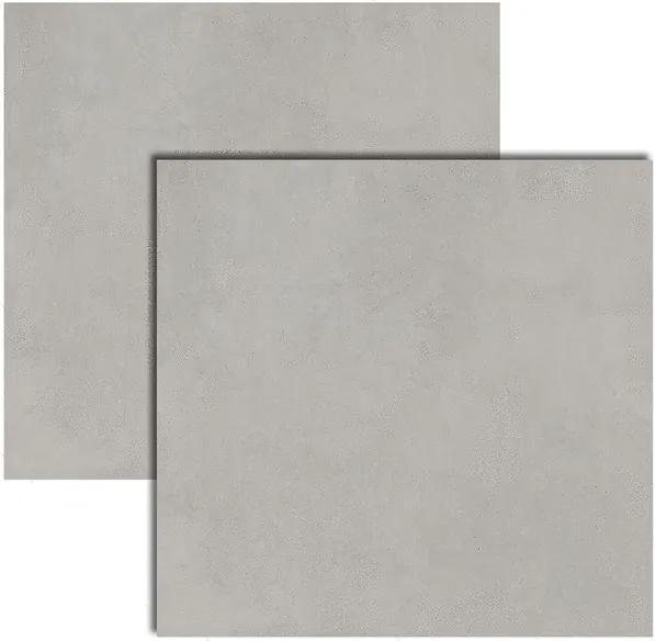 Porcelanato LM Concrete Gray MC Polido Retificado 120x120cm - Roca - Roca