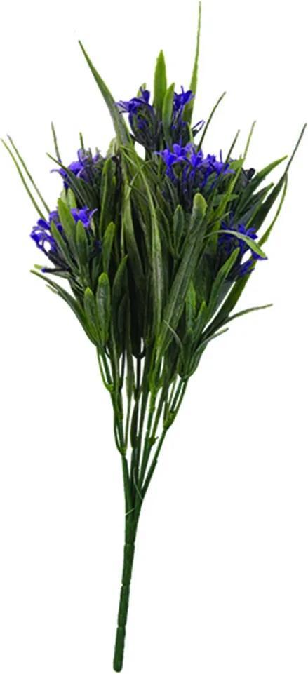 Ramo Flores Artificiais  FOLHAGEM 12 pçs  30 cm Ilunato  AR0066