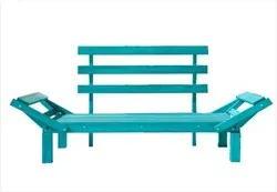 Sofá Cama Futon Country Comfort Stain Azul - Mão & Formão
