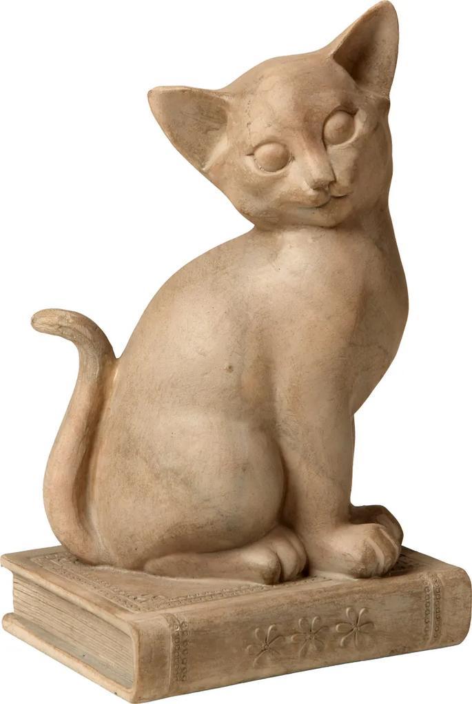 Estatueta Gato Moore Book