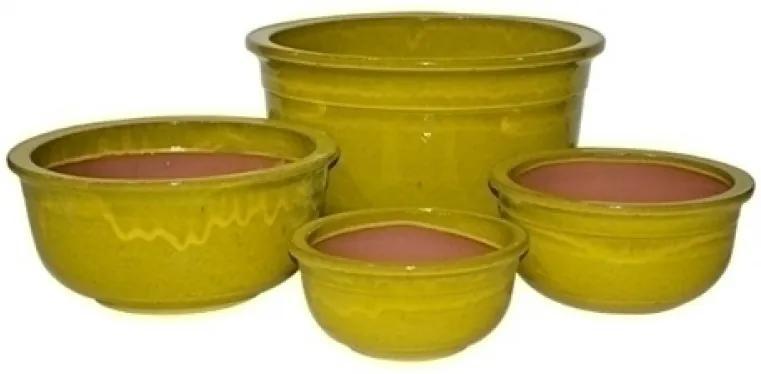 vaso vietnamita BRENA amarelo 4pçs Ilunato WL0001LXL