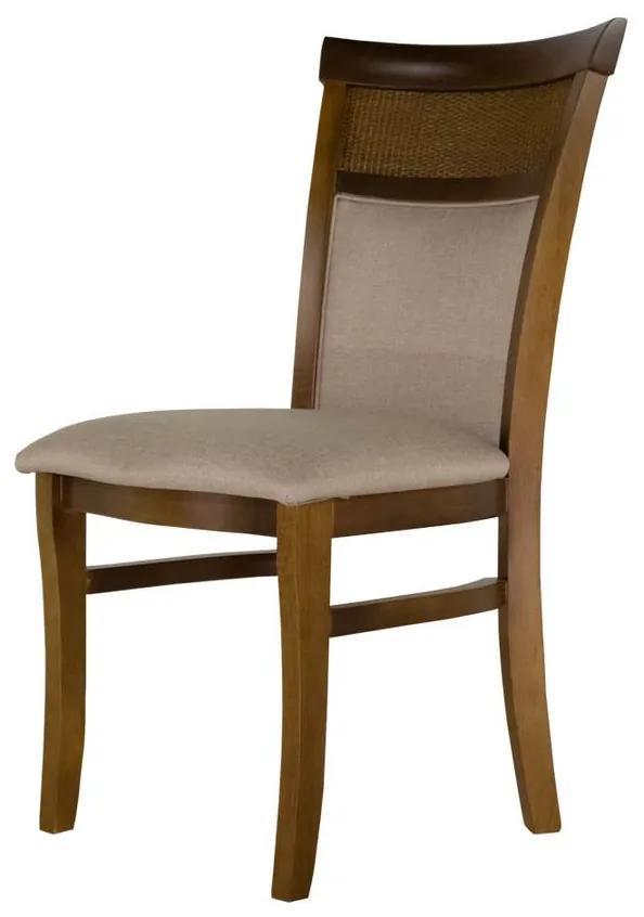 Cadeira de Jantar Cici com Rattan - Wood Prime PP 25765