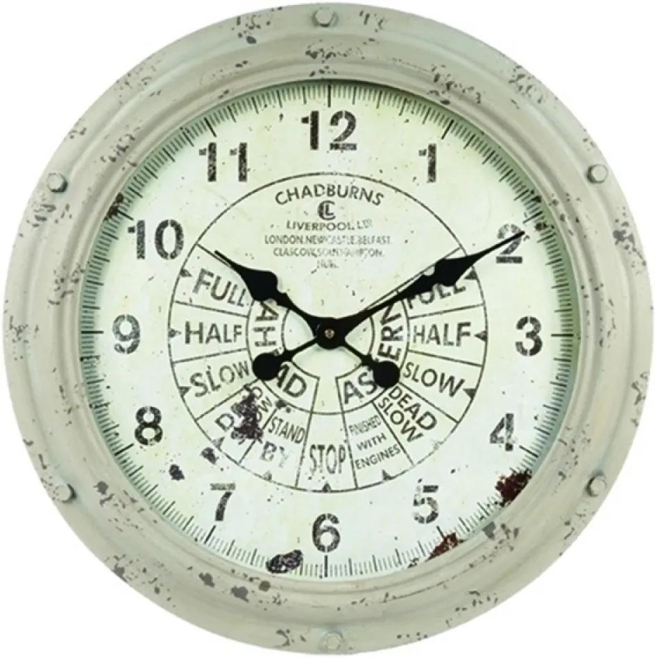 relógio CHADBURNS ferro 55cm Ilunato LC0176