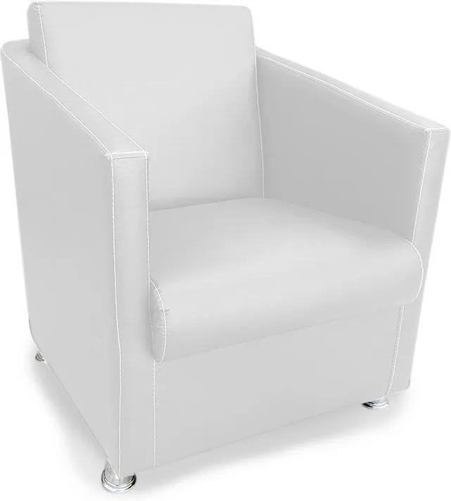 Poltrona Decorativa Átila Courvin Branco - Sheep Estofados - Branco
