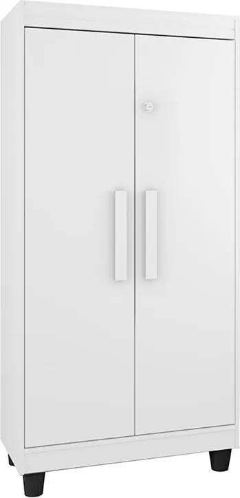 Armário Multiuso Paris Branco - RV Móveis
