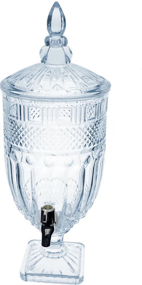 Suqueira Clássica em Cristal Transparente - 4,5L