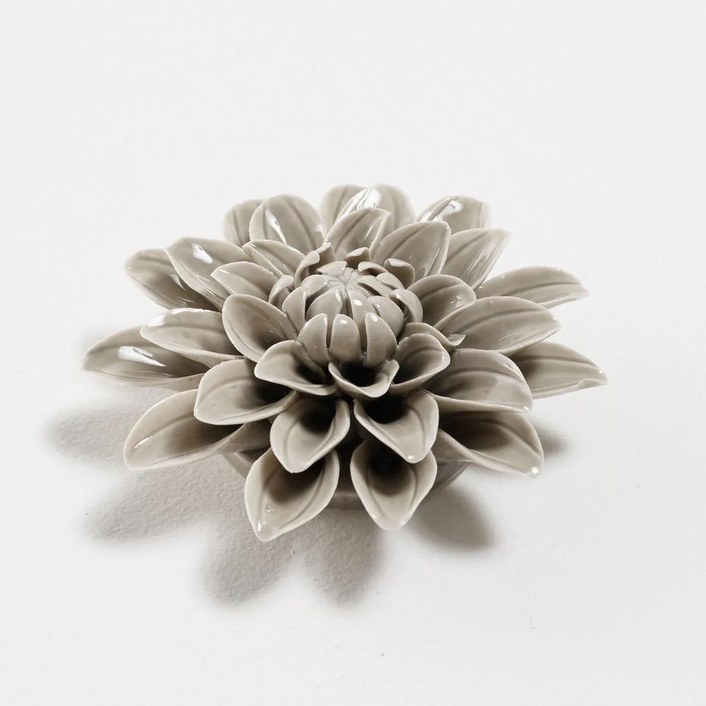 Objeto Decorativo de Porcelana Flor