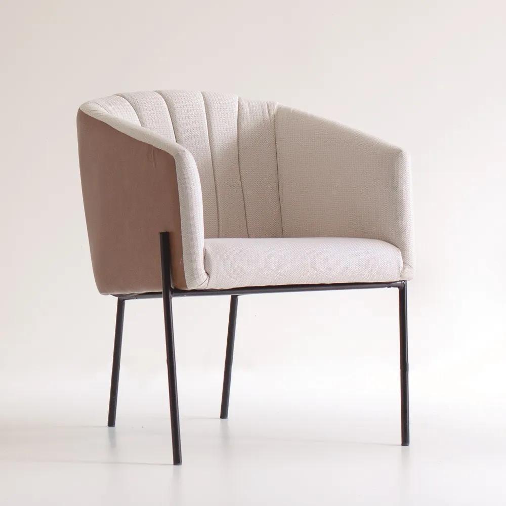 Poltrona Vick Gomada Estrutura Aço Carbono Design Contemporâneo Design by Estúdio Casa A