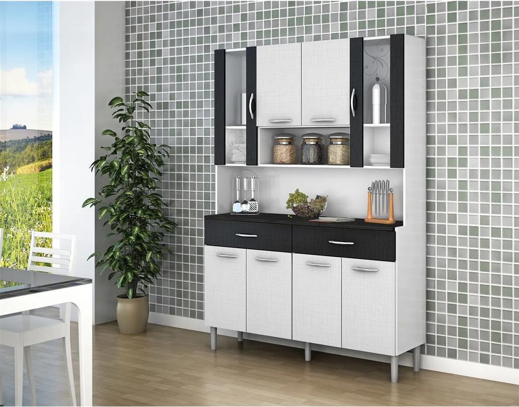 Cozinha Compacta Kits 8 Portas 197 Golden
