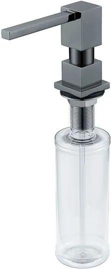 Dosador de Sabão Líquido Black Matte 350ml - DeBacco - DeBacco