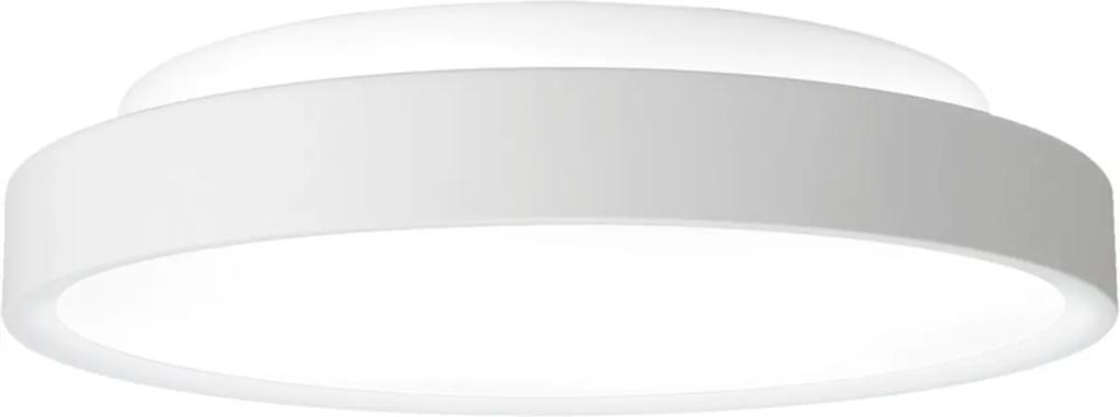 Plafon Sobrepor Aluminio Branco 40cm Ring