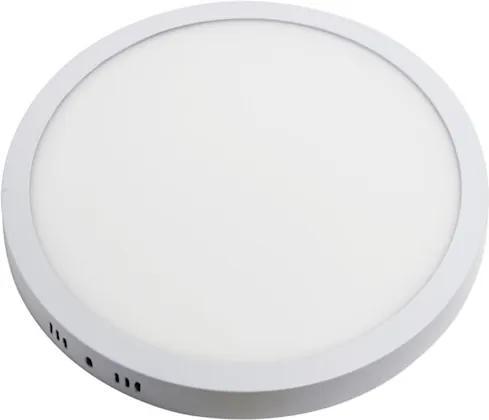 Plafon Sobrepor Redondo Alumínio Branco Led 48W