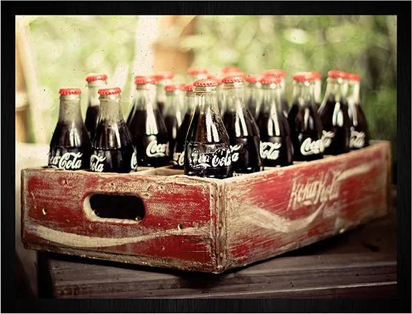 Quadro Coca Palete Garrafas