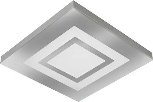 Plafon Led Sobrepor Espelhado 25W Luz Branca 6500K Roma