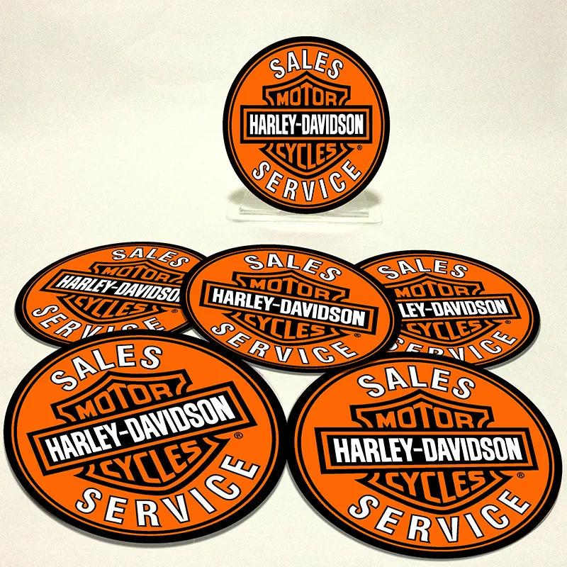 Conjunto com 6 Porta Copos Redondos Harley Sales Service