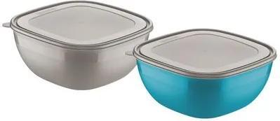 Conjunto de potes 2 peças Mix Color Tramontina 25099950