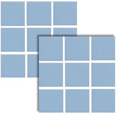 Revestimento Nautilus Azul Claro Brilhante 9,5x9,5cm - 82316E - Portobello - Portobello