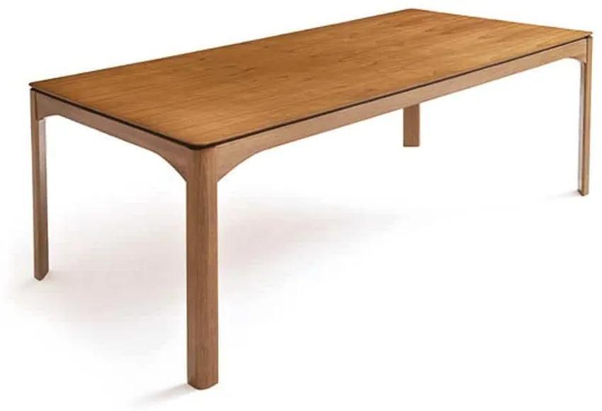 Mesa de Jantar Eron Tampo Laminado Cinamomo Design Contemporâneo Design by Estúdio Casa A