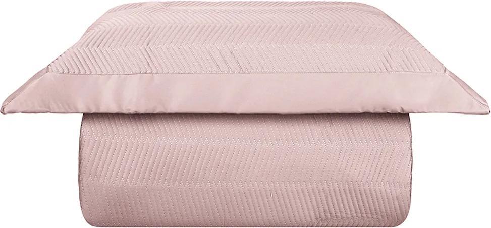 Kit Colcha Palace 400 Fios Solteiro Rosa – Naturalle Fashion