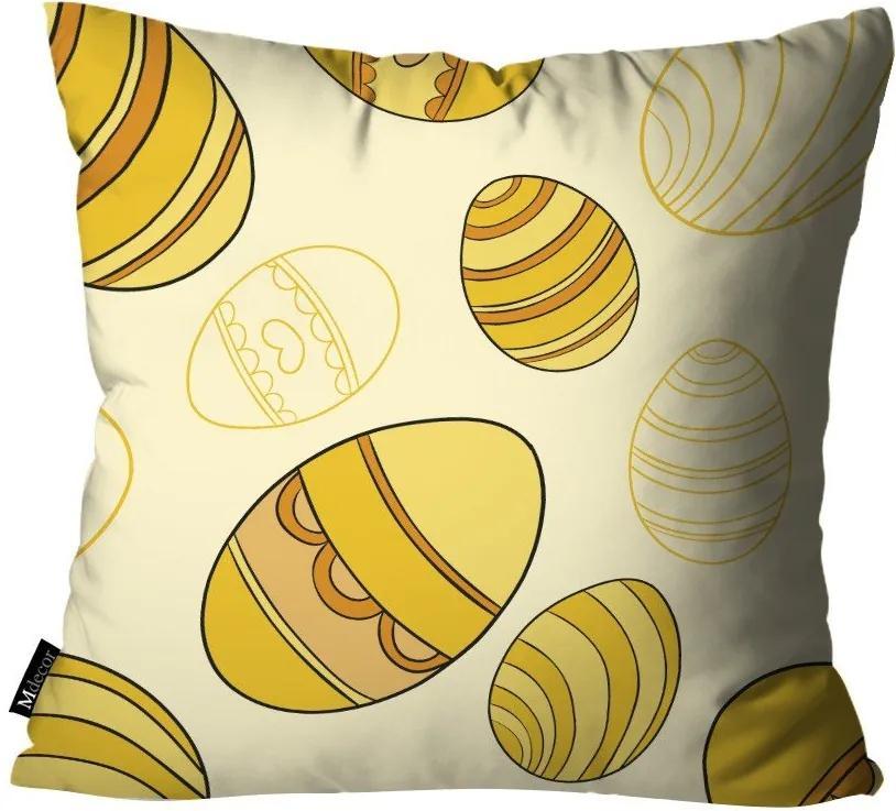 Capa para Almofadas de Páscoa Amarelo55x55