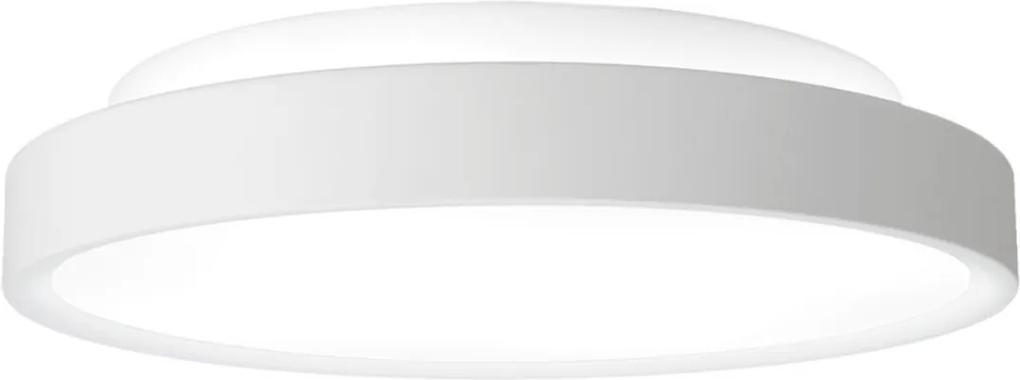 Plafon Sobrepor Aluminio Branco Ring