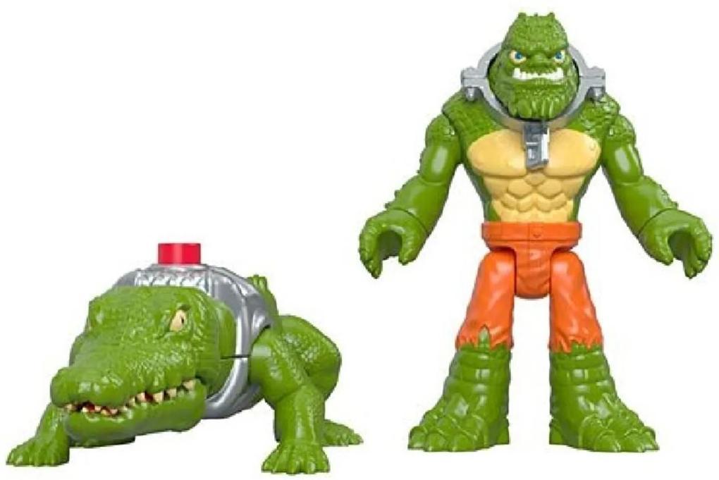 Imaginext DC Super Friends K Croc e Crocodilo - Mattel