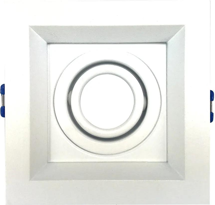 Embutido Recuado II Fundo Branco 1X Mini Dicroica - Newline - IN51301BT