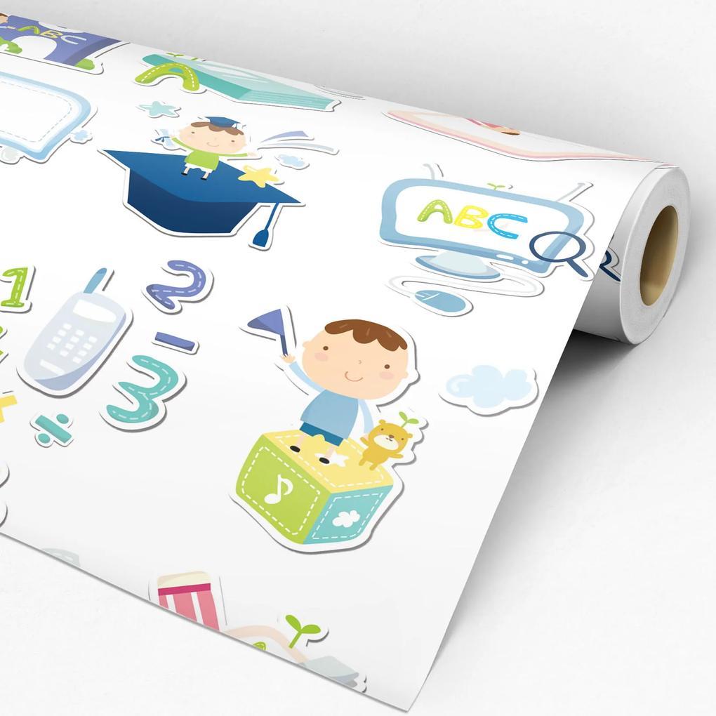 Papel de parede adesivo infantil