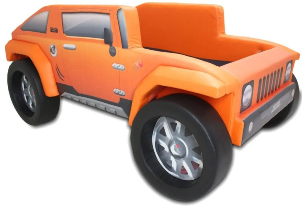 Cama Infantil Hummer Cama Carro do Brasil Laranja