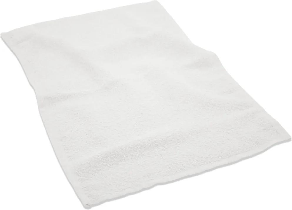 Toalha para Manicure - 28x45cm - Princesa -Branco