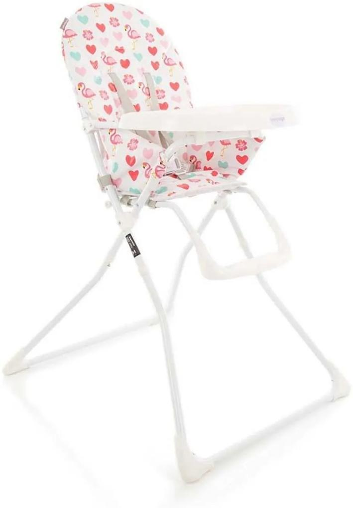 Cadeira de RefeiçÁo Kitut Voyage Rosa Flamingo
