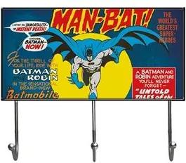 Cabideiro Batman Quadrinhos HQ DC Comics Vintage Grande