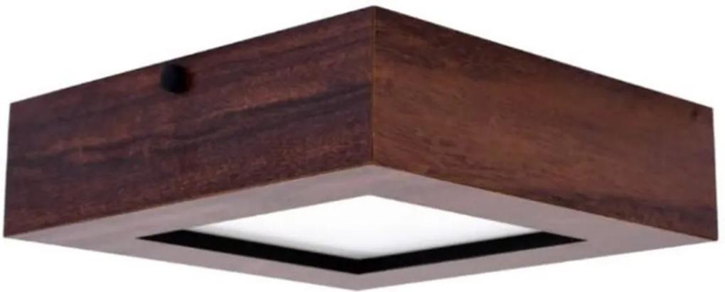 Caixa em Madeira para Placa de led 22,5x22,5cm - ADM- ADM19