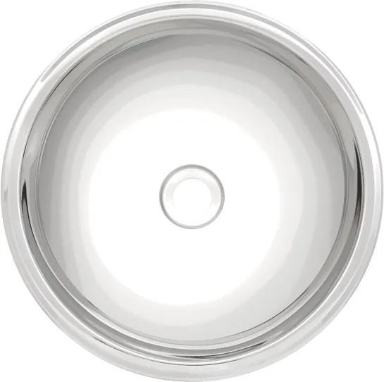 Lavabo em aço inox alto brilho 28 cm - Perfecta - Tramontina