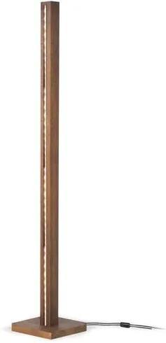 Luminaria de Piso Tower em Madeira cor Rustic Brown 1,82 cm (ALT) - 50941 Sun House