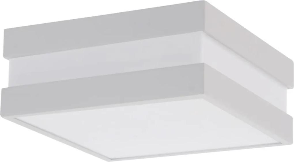 Plafon Sobrepor 11789bt Branco 2 Eletronica 15w Sem Lampada