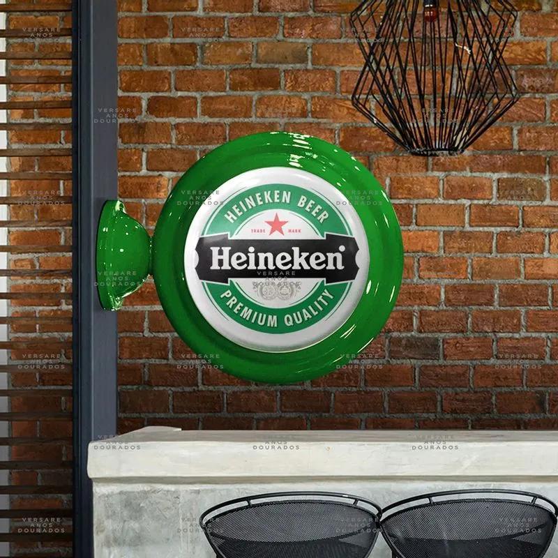 Luminária De Parede Heineken