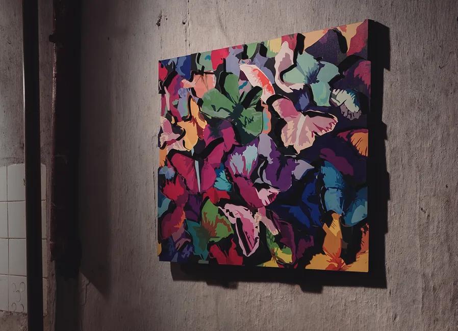 Escultura de Parede Mariposa