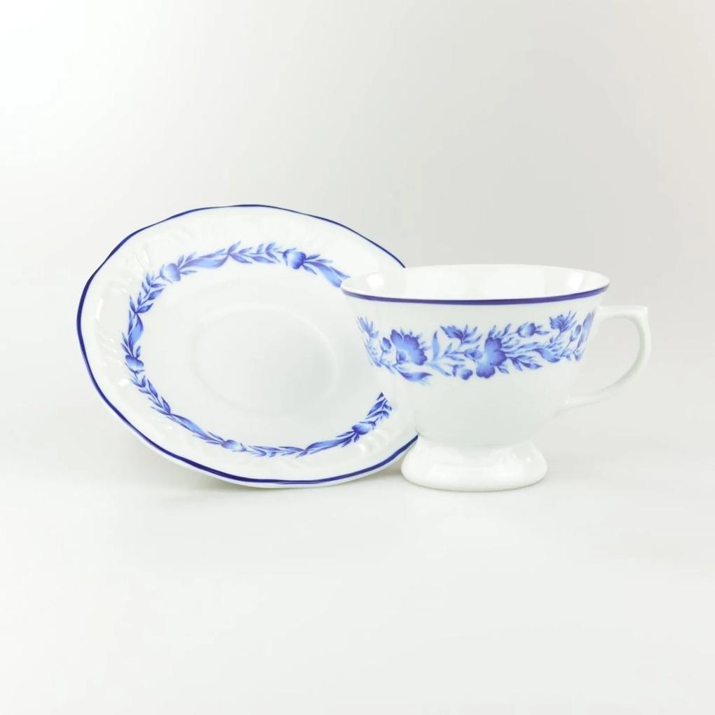 Xícara Chá Com Pires 200 ml Porcelana Schmidt - Dec. Edite 2° LINHA