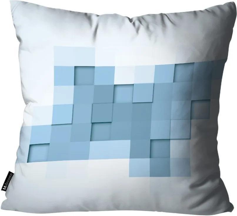 Almofada Abstrato Azul45x45cm