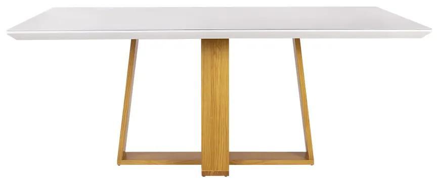 Mesa de Jantar Coyle Com Vidro - Wood Prime DS 41166 1.20 x 0.80