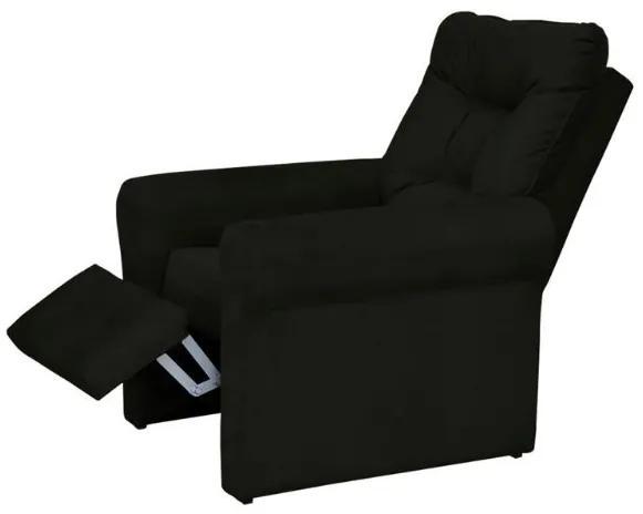 Poltrona do papai reclinável Clio -  Preto