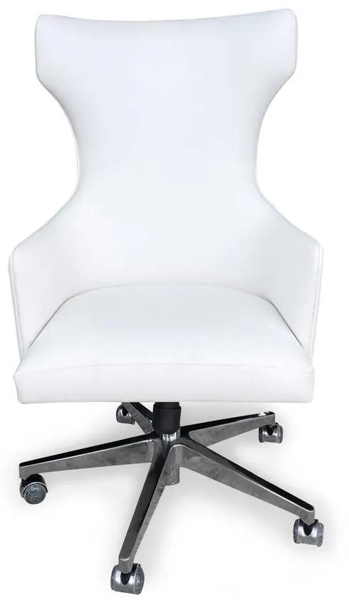 Poltrona Berger Giratoria Lisa c/ ajuste de altura e relax e tecido personalizado