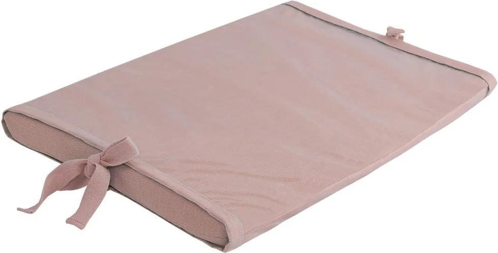 Trocador de Bebê Rosê Tricot