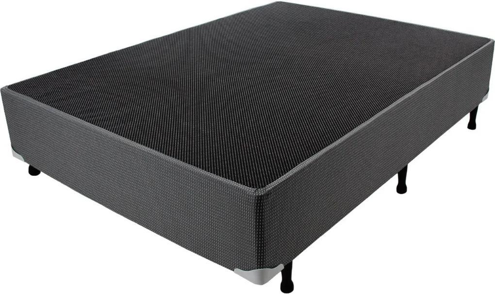 Box Cinza Quadriculado 138X188X24 Luckspuma