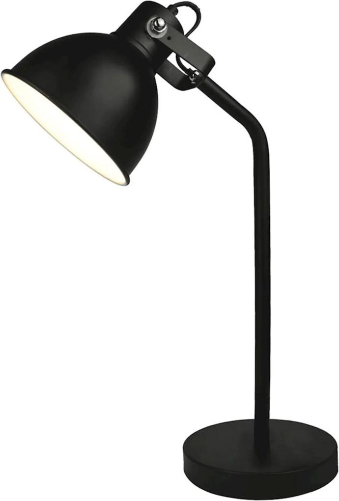 Luminária De Mesa Premier Iluminação, 26X16cm Metal Preto ÚNICA