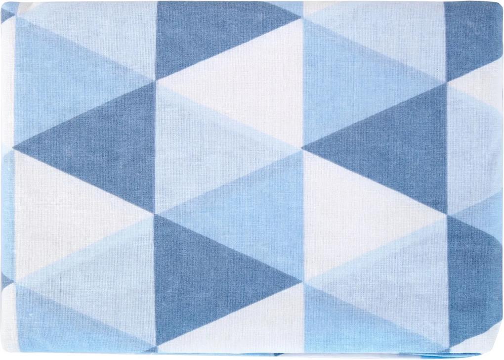 Lençol com Elástico Minasrey Muito Mimo 100% Algodão Azul