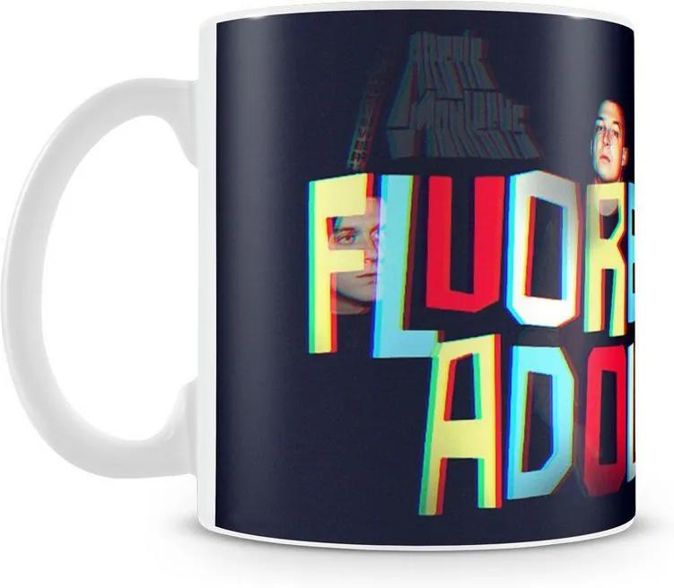 Caneca Personalizada Arctic Monkeys Fluorescent