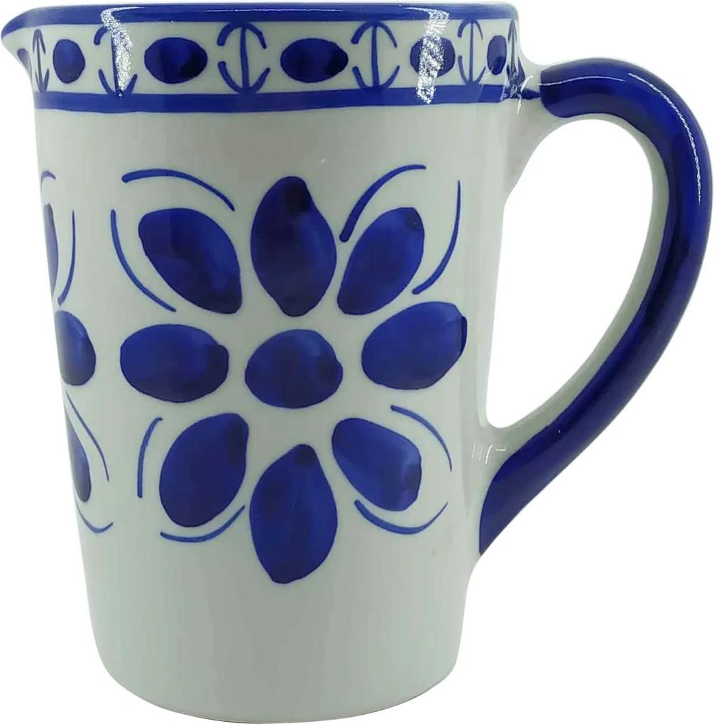 Jarra de Porcelana Azul Colonial 650 ml