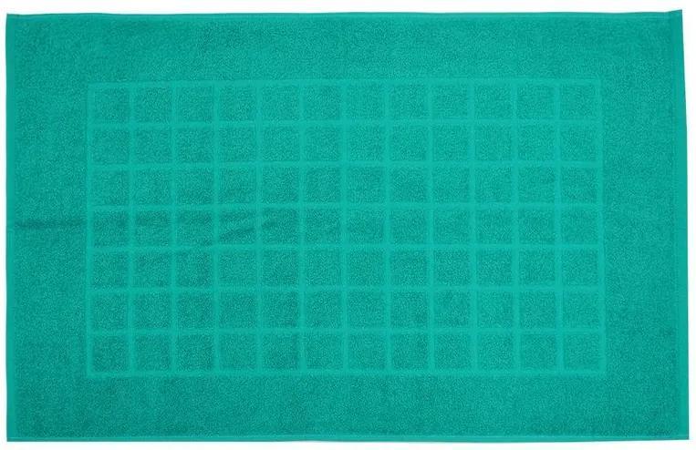 Toalha de Piso Royal II - Azul Turquesa - Döhler